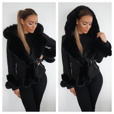JAIMY The lammy coat black