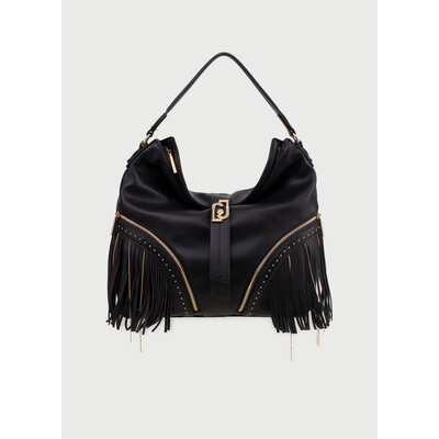 LIU JO Shoulderbag with fringes