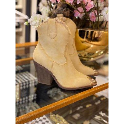 JAIMY Ralf boots Beige gold