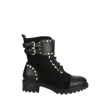 JAIMY Janice suede boots BLACK