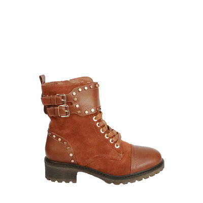 JAIMY Janice suede boots CAMEL