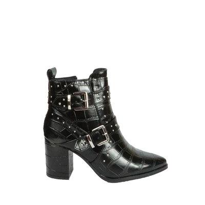JAIMY Mascha studded croco boot BLACK