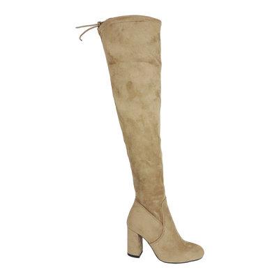 JAIMY Julie overknee boots BEIGE