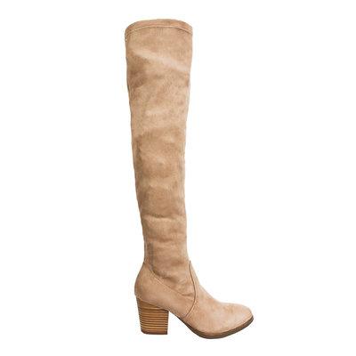 JAIMY Vicky overknee boots BEIGE