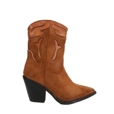 JAIMY Felice cowboy boots CAMEL