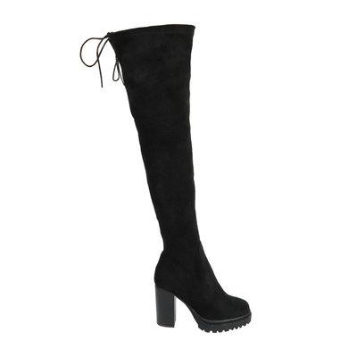 JAIMY Helen overknee boots BLACK