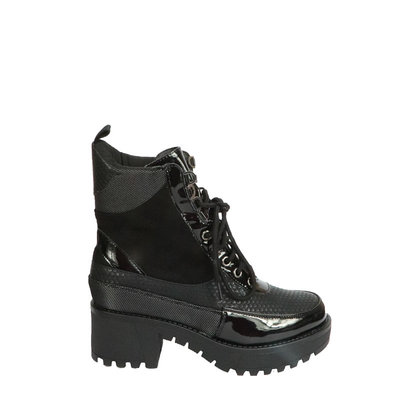 JAIMY Vivian mixed boots BLACK
