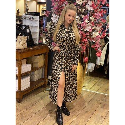 JAIMY Travel maxi dress leopard