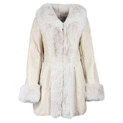 JAIMY The perfect lammy coat creme
