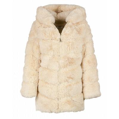 JAIMY Daisy fluffy jacket creme