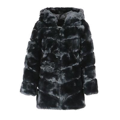 JAIMY Daisy fluffy jacket black