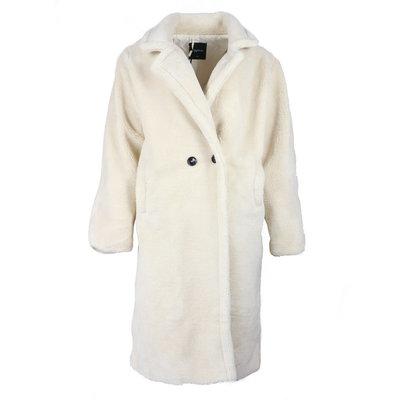 JAIMY Teddy Coat whisper white