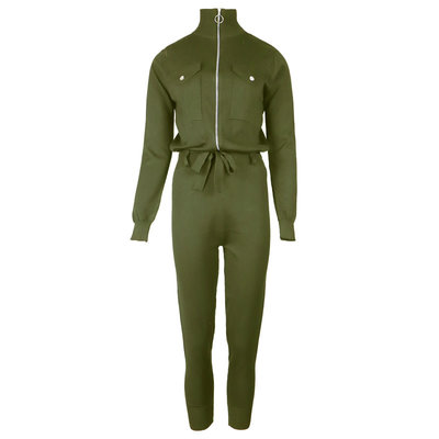JAIMY Evie comfy jumpsuit army green