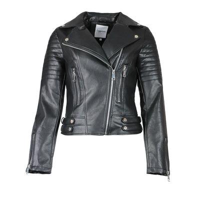 JAIMY The perfect biker jacket black