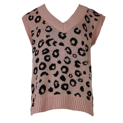 JAIMY Leopard spencer pink