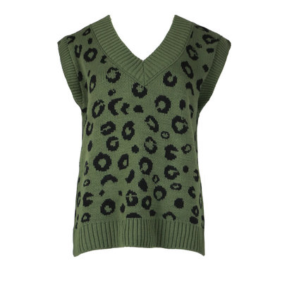 JAIMY Leopard spencer green