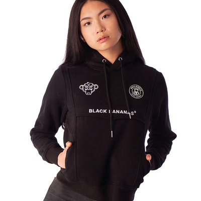 Black bananas Anorak hoody black