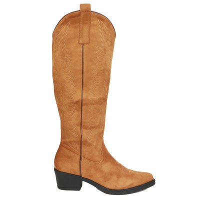 JAIMY The western dream booties CAMEL