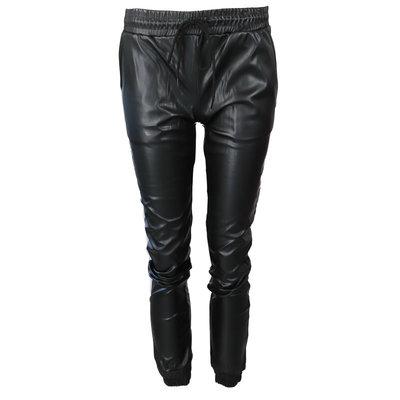 JAIMY Leather 2 piece set black