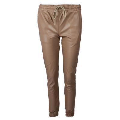 JAIMY Leather 2 piece set beige