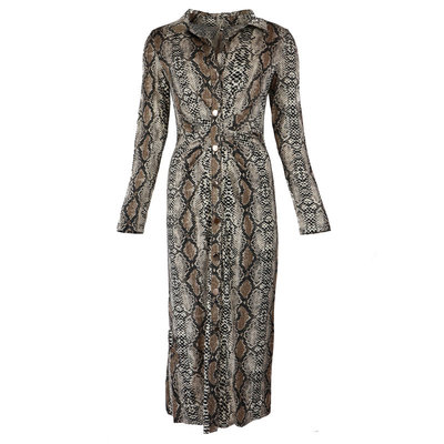 JAIMY Lara travel snake dress