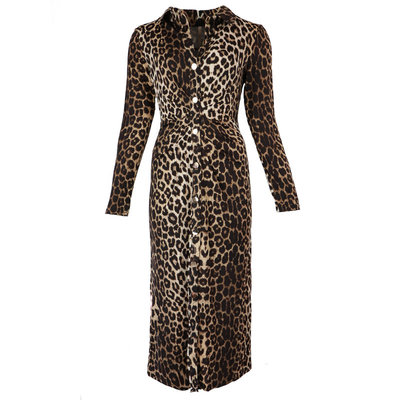 JAIMY Lara travel leopard dress
