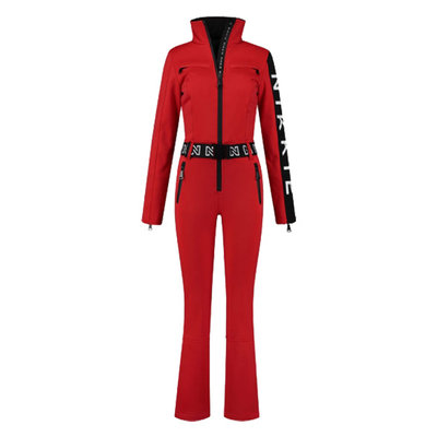 NIKKIE Ski jumpsuit rough red