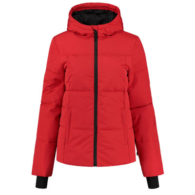 NIKKIE Nikkie logo ski jacket rough red