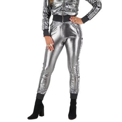 REINDERS Tracking pants shiny light grey