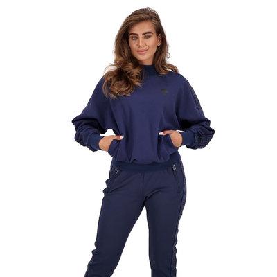 REINDERS tracking sweater dark blue