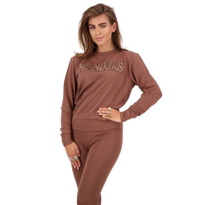 REINDERS Reinders sweater dark brown