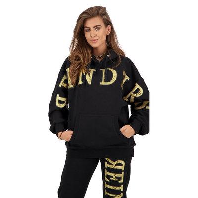 REINDERS Hoodie Reinders Diamonds black / gold