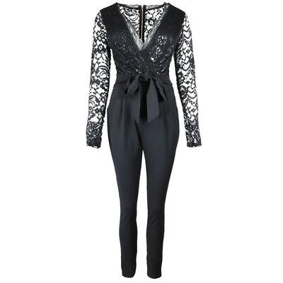 JAIMY Limited lace 2 ways to wear jumpsuit black