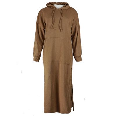 JAIMY Maxi sweater dress camel