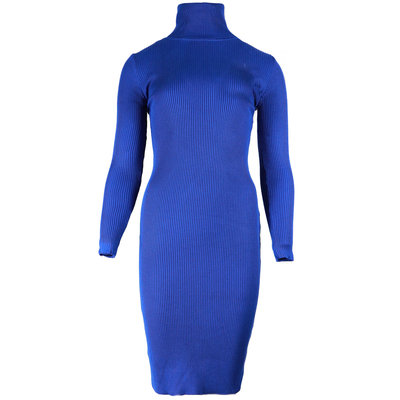 JAIMY Tessa bodycon col dress blue