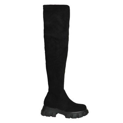 Liz overknee boots black