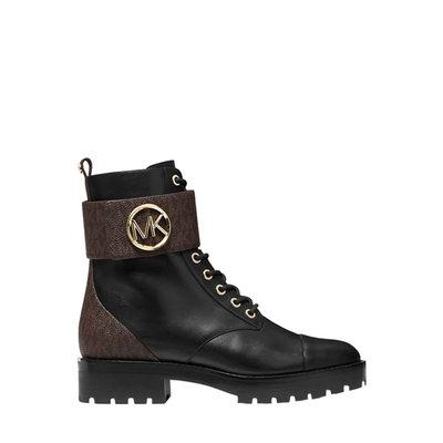 MICHAEL KORS Tatum ankle boot Brown black