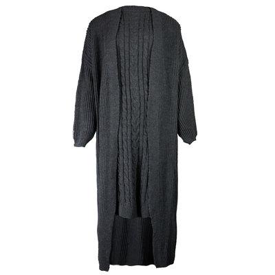 JAIMY 2 piece knitwear set black