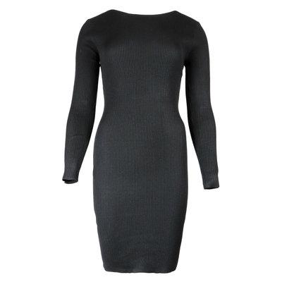 JAIMY Low back chain dress black