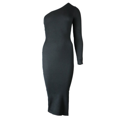 JAIMY Linn one shoulder dress black