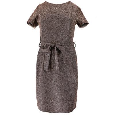 JAIMY Liv sparkle dress gold