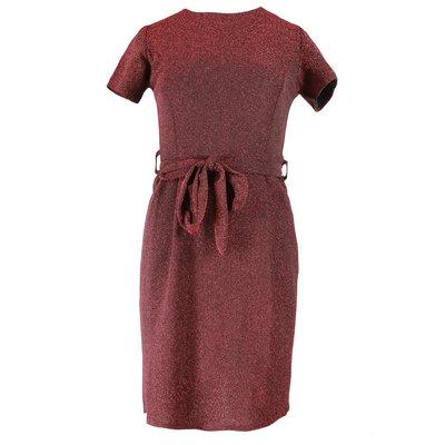 JAIMY Liv sparkle dress red