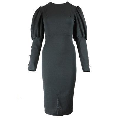 JAIMY Maja open back dress black