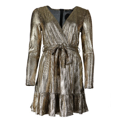 JAIMY Sparkle dress Ellen gold