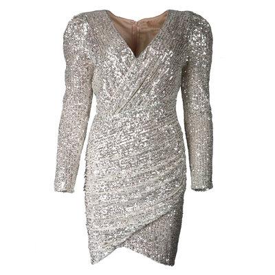JAIMY Freya sequin dress gold
