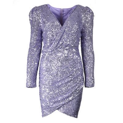JAIMY Freya sequin dress lilac