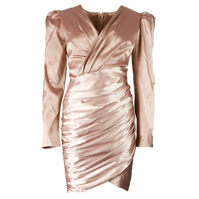 JAIMY Perfect satin dress rose