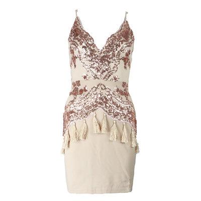 JAIMY Inne sparkle dress rose