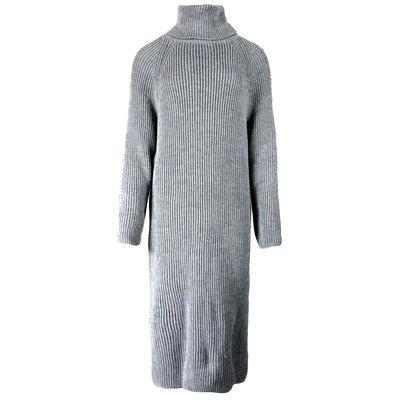 JAIMY Jenna knitted col dress dark grey