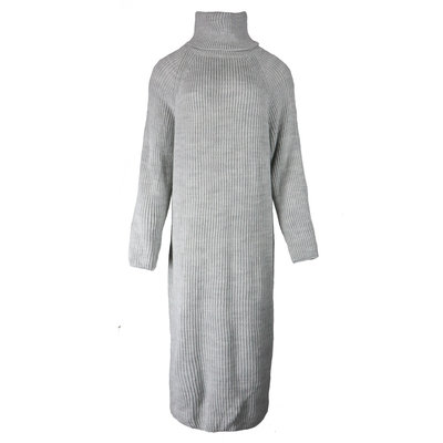 JAIMY Jenna knitted col dress light grey